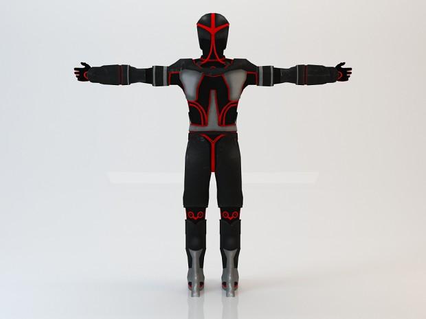 New Suit Model - Back