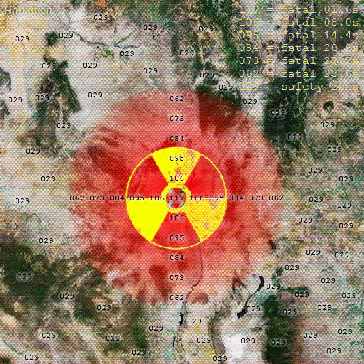 Black Mesa - Radiation Map