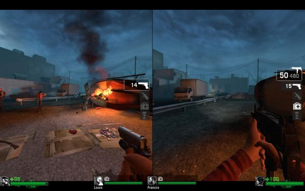 Left 4 Dead Split Screen picture