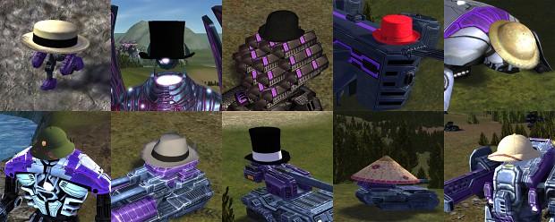 Crate Drop: Current hat lineup