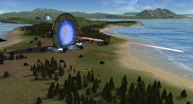 Post 0.8 developments: Stargate projectile warping