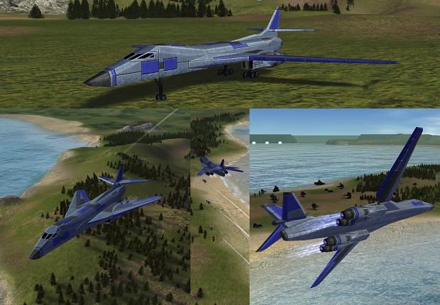 Lancer: UEF Tech 3 Penetrator Bomber