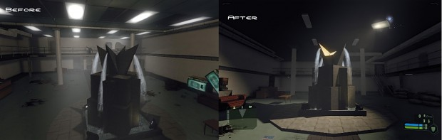 Lighting Comparison from v2.5 to v3.0