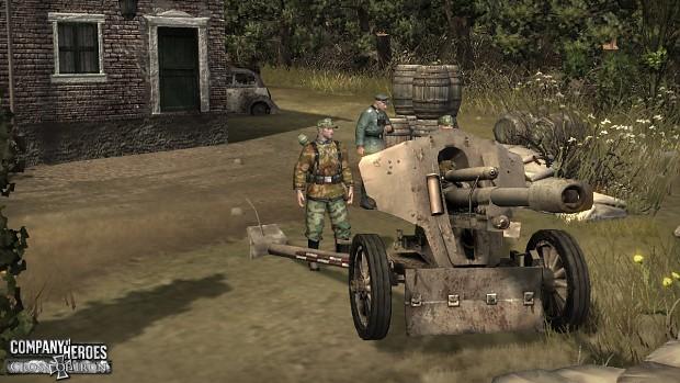 LeFH 18/40 Howitzer
