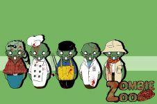 Themed Zombie Mascots