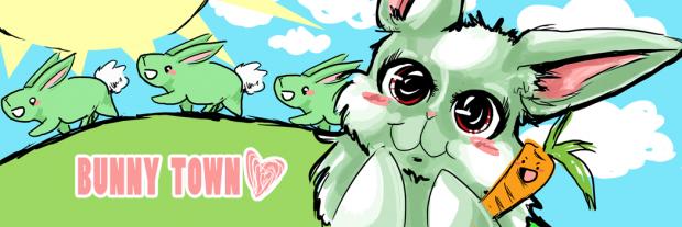 Bunny Town Mural