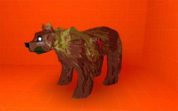 Zombie Grizzly Bear