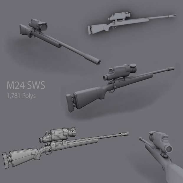 Tier 1 Sniper Rifle