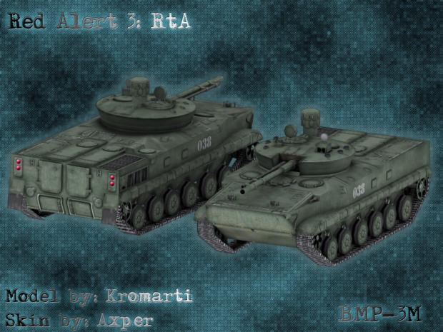 BMP-3M Render
