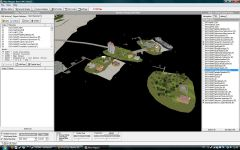 3D view of  the Island with Moo