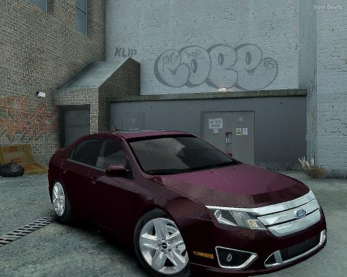 ford fusion.
