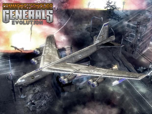 """American B-52 """"Stratofortress"""""""