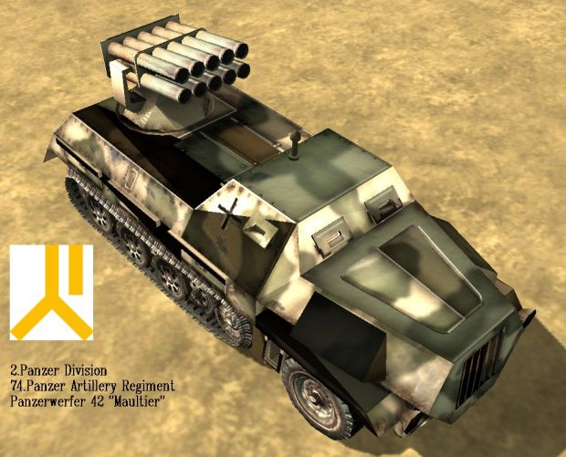 "Panzerwerfer 42 ""Maultier"""