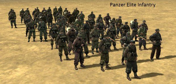 Panzer Elite Infantry Skins