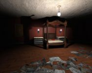 Cursed Mansion - the Master Bedroom