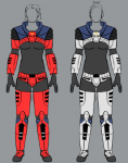 Female HEV suit - concept