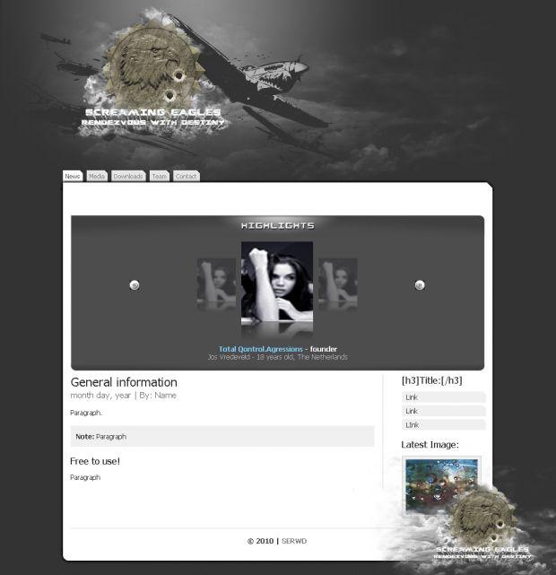 SERWD website old