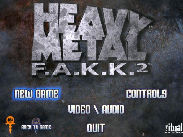 F.A.K.K. 2 - Multiplayer Main Menu