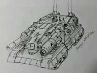 Dragonfather superheavy tank concept