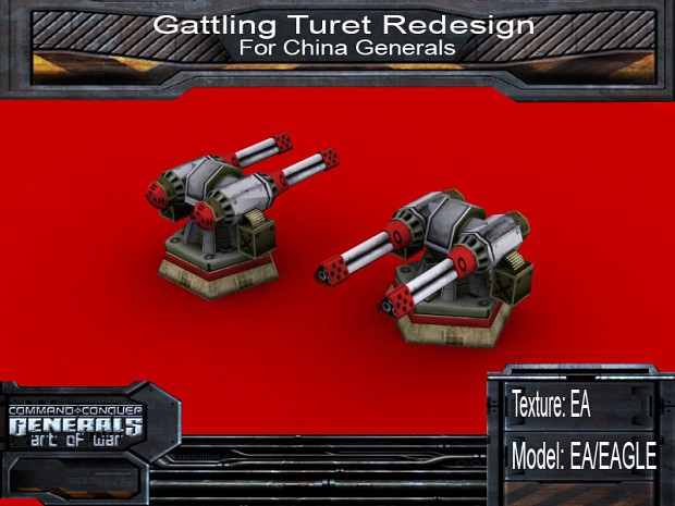 Gattling Turret Redesign