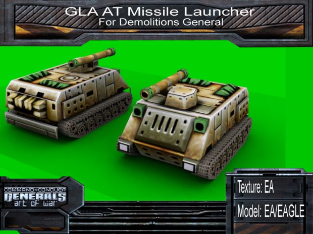 Demo Gen's AT-missile Launcher