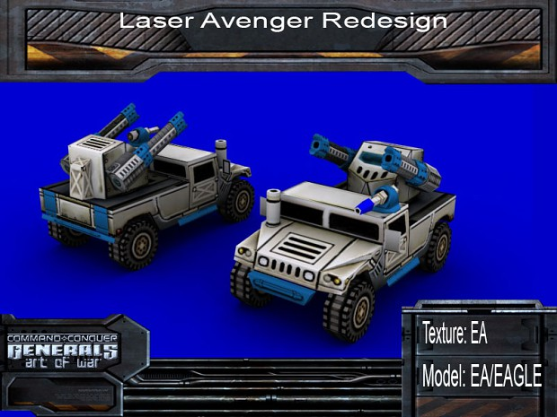 Laser Avenger Redesign
