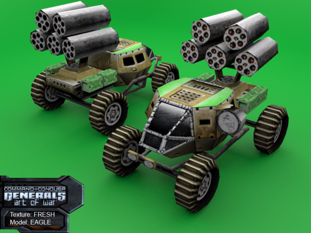 Rocket Buggy remake