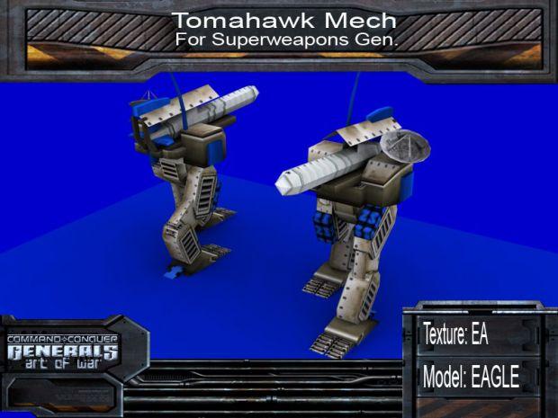 Superweapons Gen's Tomahawk Mech