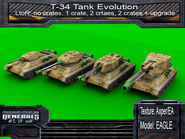 T-34 Evolution