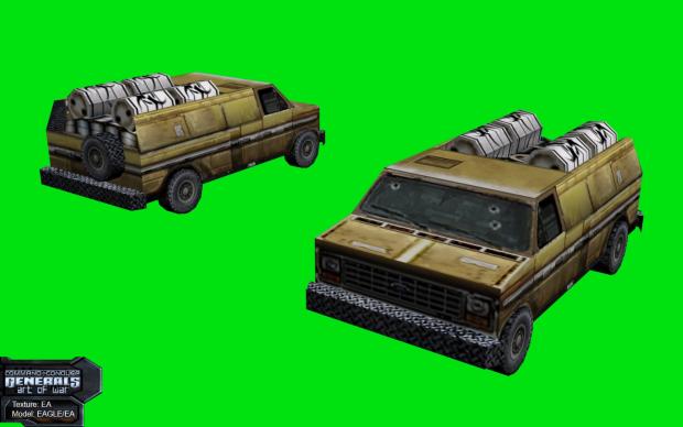Toxic Bomb Van for Dr.Thrax