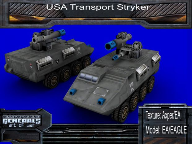 Transport Stryker