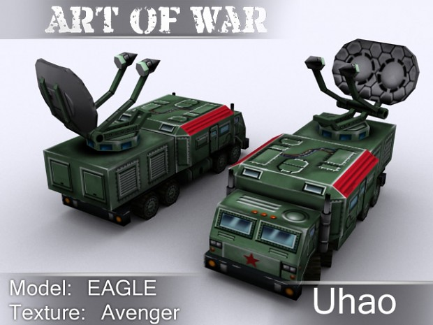 """Uhao"" ECM Air Defense vehicle"