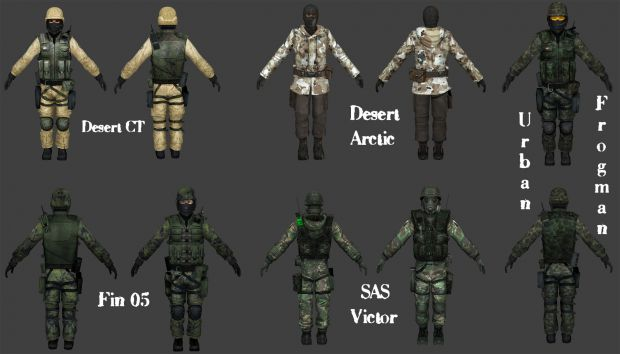 2 Player Skin Packs Image Zombie Riot Mod For Counter