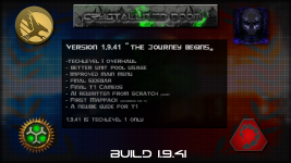 "Version 1.9.41 "" The journey begins,,"