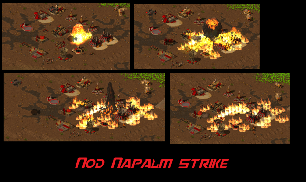 Nod Napalm Strike stages
