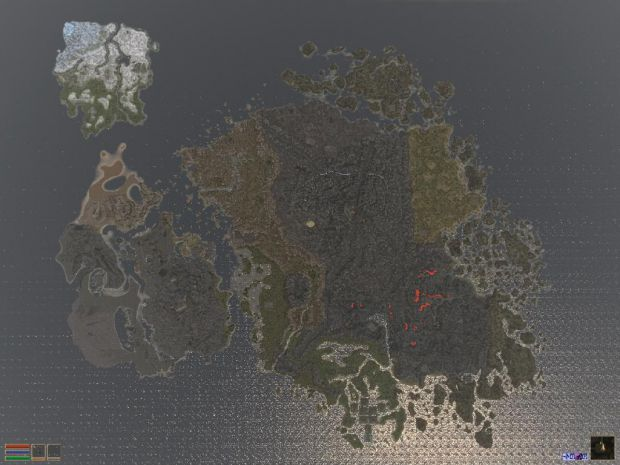 Harsh Lands older map
