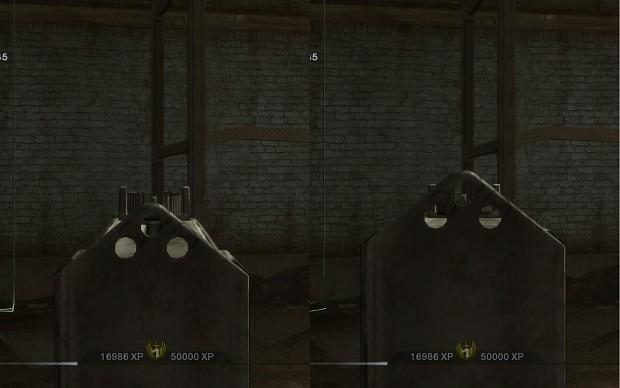 Fixed MAC-11 sights