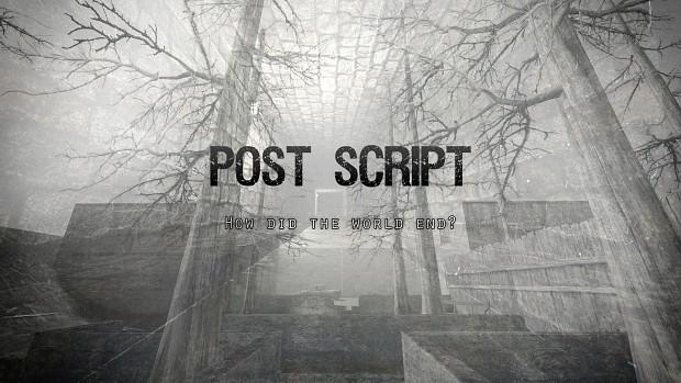 Post Script Promotional Art