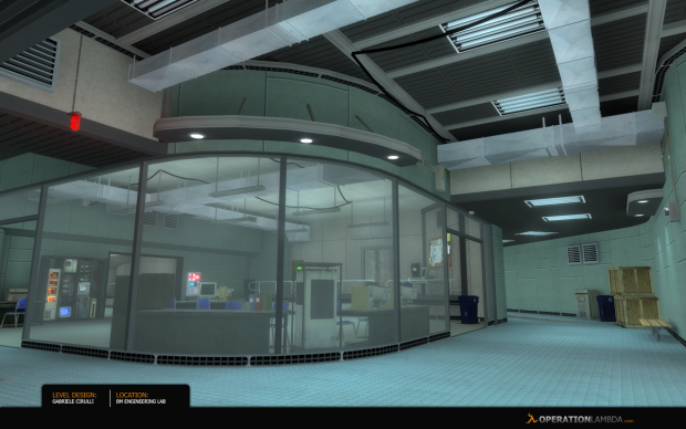 Black mesa engineering lab image operation lambda mod for Operation black mesa download