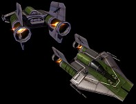 """A-wing """"Green Squadron"""""""