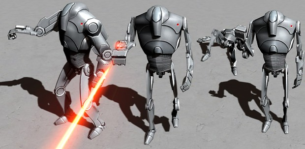 COMMISSION - B2 Super Battle Droid