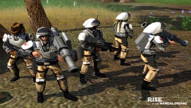 Vanguard Troopers - First look