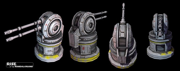 The Mandalorian On Air : new republic anti air turret image rise of the ~ Pogadajmy.info Styles, Décorations et Voitures