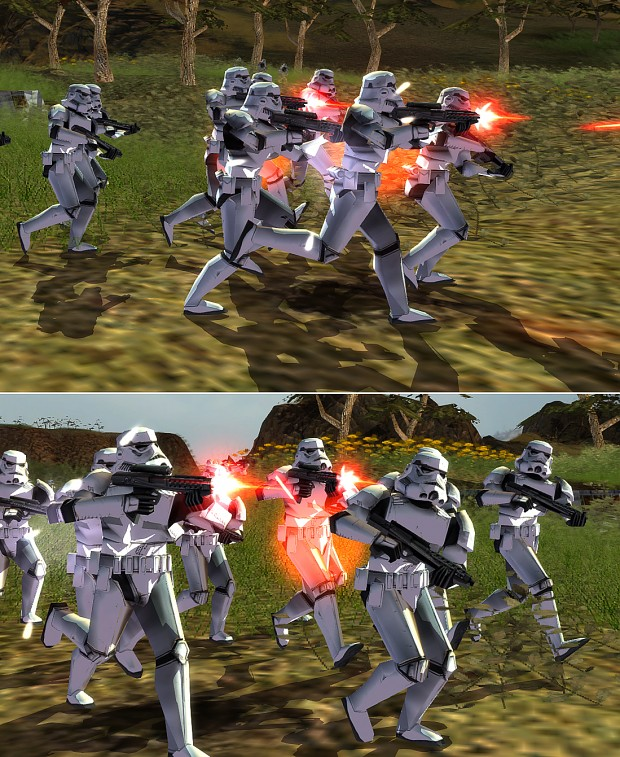 """Infantry """"turrets"""" on Stormtroopers"""