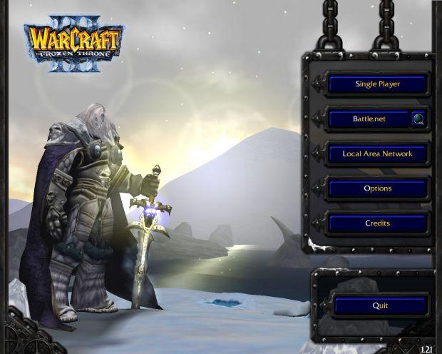 main menu screen image