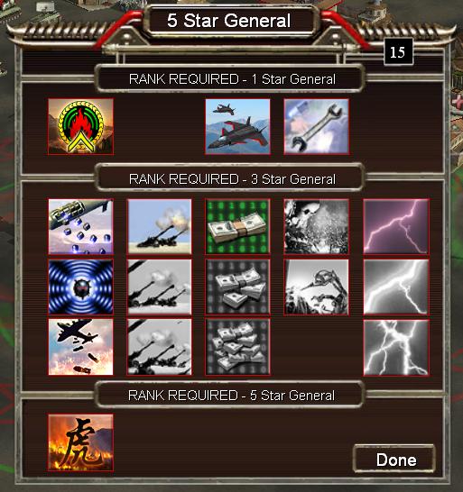 Bonus: EMP and Napalm Gen Powers