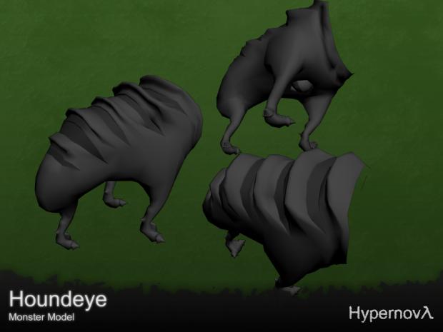 Houndeye - Cute-ish alien thing - NPC model v0.9