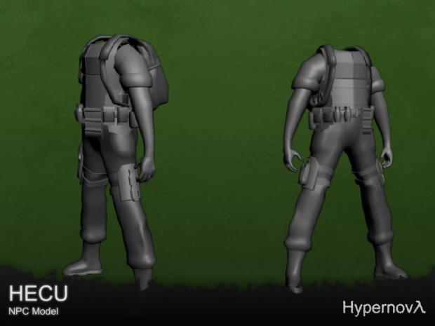 HECU body - NPC Model v0.6