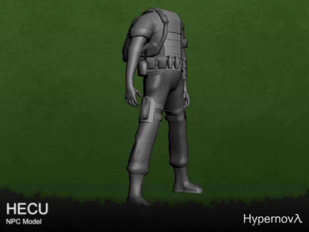 HECU body - NPC Model v0.7