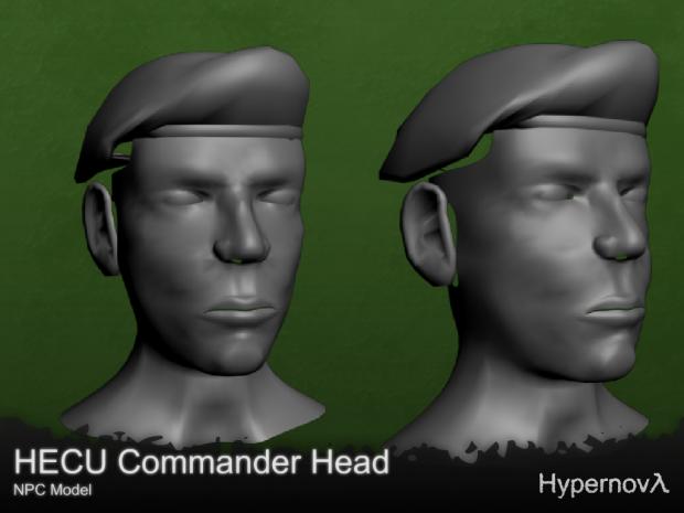 HECU head - NPC Model v0.8